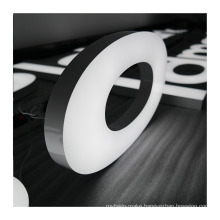 Advertising Led Channel Letters Sign acrylic light up signage illuminated advertising letters