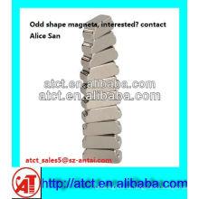 speziell geformte Magnet, hochwertige Ndfeb magnet