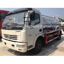 DONGFENG Duolika Small 5CBM Camión de succión de aguas residuales