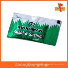 Пищевой асептический термосварной пластик васаби пакетик с печатью