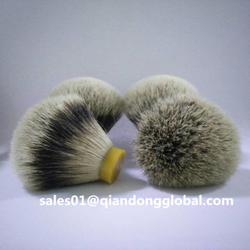 Beste High Mountain White Badger Hair Knots