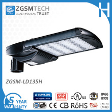IP66 135W LED Parking Lot Lights with UL Dlc