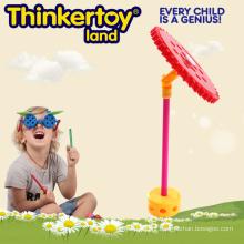 Brinquedo fino do treinamento da habilidade do motor para o microfone temático dos miúdos