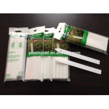 Etiqueta plástica de la planta de jardín del PP con la manija