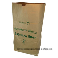 Nutral Brown Littre Compositable Papiersack