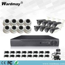16chs 3.0MP Home Security Surveillance Kit Sistem DVR