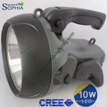 Neue Fackel, neue LED-Taschenlampe, neues Suchlicht, Blitzlicht