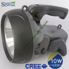 Nova tocha, nova lanterna LED, nova luz de busca, luz de flash