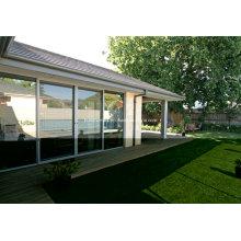 Pleasant Slimline Sliding Double Glass Aluminium Windows and Doors