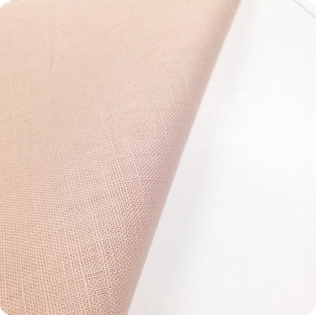 pink cotton linen fabric