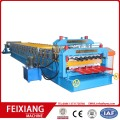 Double layer metal sheet roll making machine