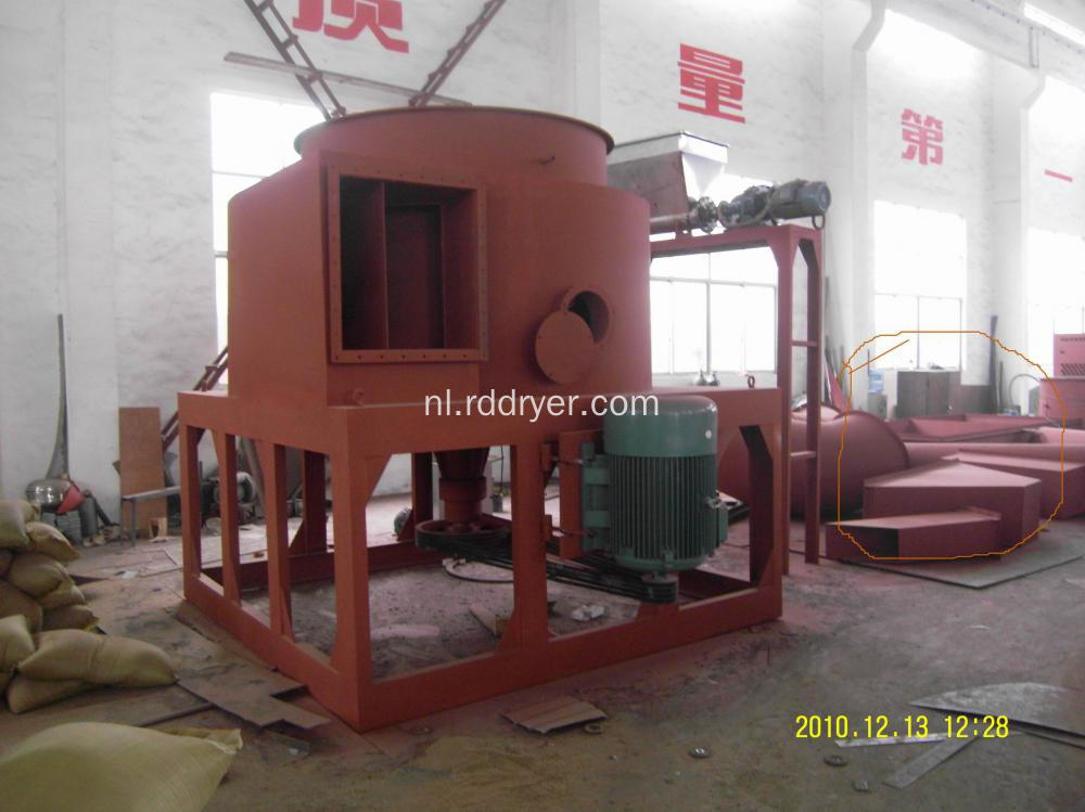 Hoog rendement Rotary Spin Flash Dryer Machinery