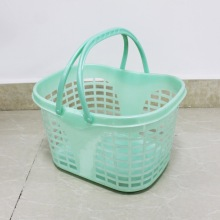 Supermarkets or retail stores plastic shopping baskets
