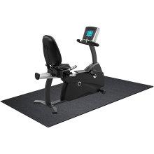 High Density Folding  Bike Equipment Floor Mat Walking Treadmill Mat