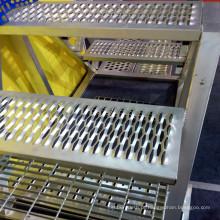 Aço Inoxidável Perfurado Anti-Skid Plate para Escadas