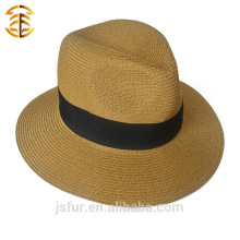 Wholesale New Fashion Casual Fedora Summer Folding Straw Hat