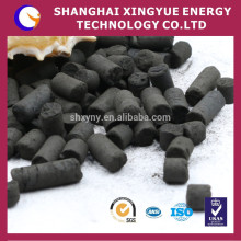 Manufactory supplying 1.5mm,1080mg/g iodine value column activated carbon