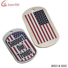 Hot Sale Enamel USA Dog Tag for Gift (LM1597)