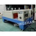 Semi automática máquina de sellado con la contracción de horno túnel para alimentos Snacks productos impresos con la película POF PVC PE PP