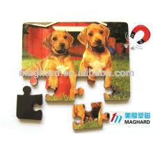 alibaba China manufacturer wholesale magnetic customized eva PVC jigsaw puzzle