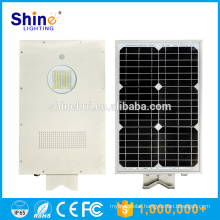 Outdoor IP65 15w 12w solar pv powered led street night garden lights all in one