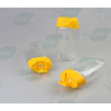 500g pet plástico garrafa de tomate molho de ketchup (PPC-PHB-64)