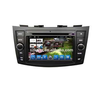 Factory Double Din android 6.0/7.1 car Multimedia player GPS for Suzuki Swift/Ertiga with Wifi BT Radio