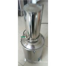 distillateur d'eau économe en énergie / portable Distillateur d'eau en acier inoxydable avec coupure d'eau et autocontrôle