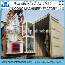 low power consumption Yugong wood sawdust pellet machine
