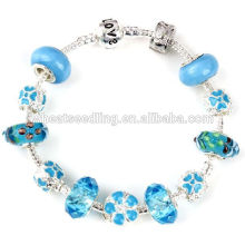 2014 pulseras afortunadas perlas pulseras personalizadas baratas