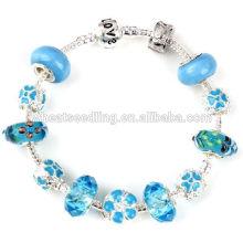 Bracelet à perles chanceuses 2014 Bracelets personnalisés à bas prix