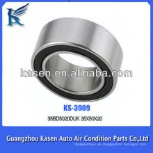 Rodamiento de bolas de contacto angular para aire acondicionado 35BD5020 / 35BG05S7G-2NST 35 * 50 * 20mm