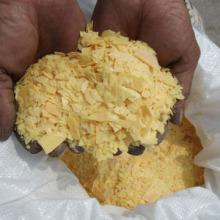 Industria del Cuero y Productos Químicos Mineros Sulfuro de Sodio Hojuelas Amarillas 60%
