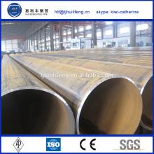 Vente en gros acier rond en acier inoxydable tableau de poids des tuyaux tube erw