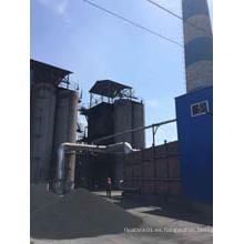 Carbón activado KOH impregnado a base de carbón