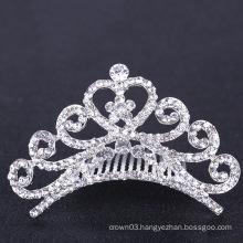 Bridal Wedding Tiaras Crown Rhinestone Hair Combs