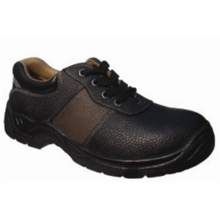 Ce Certified Brown Leather Safety Shoes for Workmen (AQ 5)
