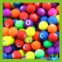 acrylic crystal bead curtain rubber round beads