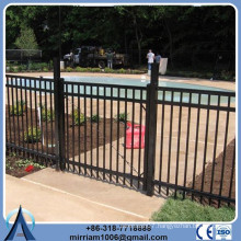 Waterproof wrought iron fence hardware