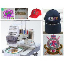 Flat Knitting Embroidery Machine for Cap T-Shirt Flat Embroidery with 3 Functions