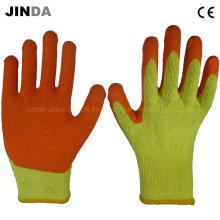 Промышленные рабочие перчатки с латексным покрытием (LS009)