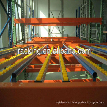 Jracking Storage Facility Rack de velocidad ajustable