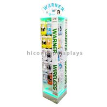 Lighting Advertising Equipment Floor Acessórios para telemóveis Wireless Bluetooth Earphone Display