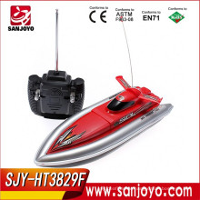 Battery powered rc boat toy RC Model Cruiser Boats Warship Model Green/ Red/ Blue HT-3829F