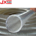 Transparant PVC Coated Flexible Steel Wire Hose