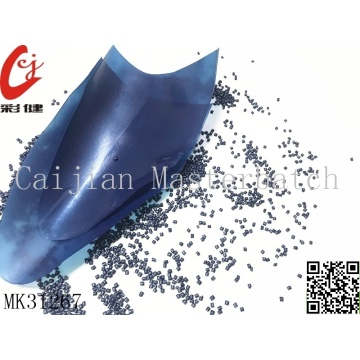 Dark Blue Masterbatch Granules