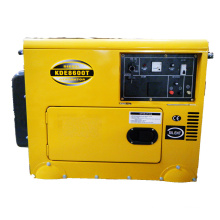 6kw Soundproof Diesel Generator Set KDE8600T Electric Start Soundproof Generator
