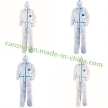 Дюпон Тайвек Простерилизованный Устранимый Медицинский Хирургический Стационар Защитная Одежда