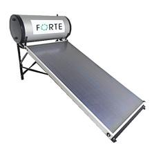 Collecteur de chaleur d'énergie solaire de boîte en métal