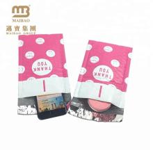 Alibaba Heißer Verkauf Benutzerdefinierte Design Einfach Self Seal Jiffy Polyethylen Blase Padded Mail Taschen Umschläge